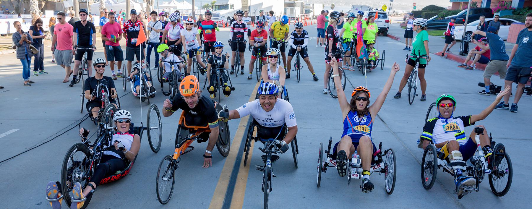 SDTC cyclists