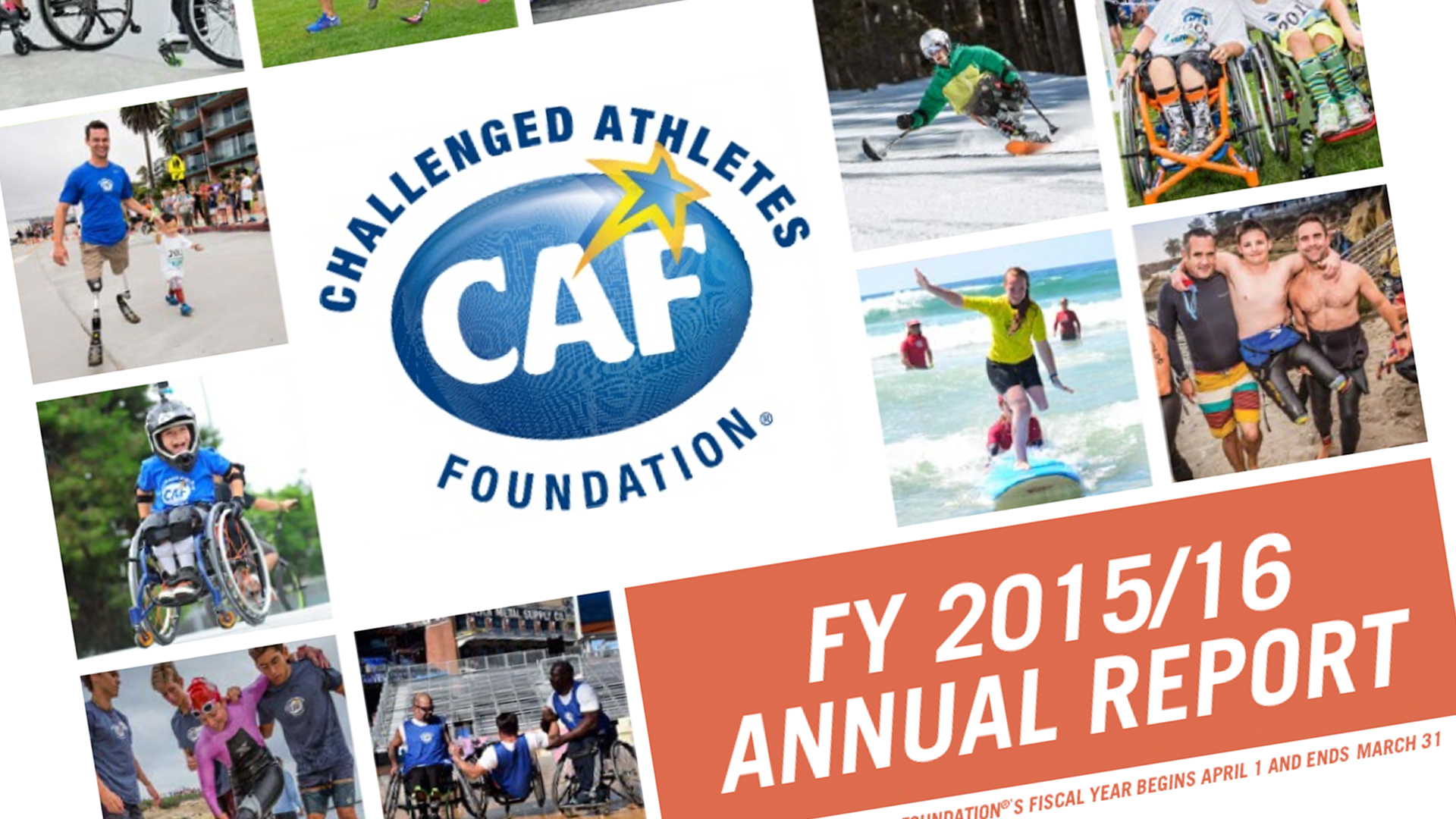 CAF Annual Report Image