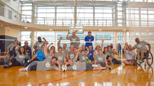 Nike Sitting Volleyball Campus Hero Image CAF