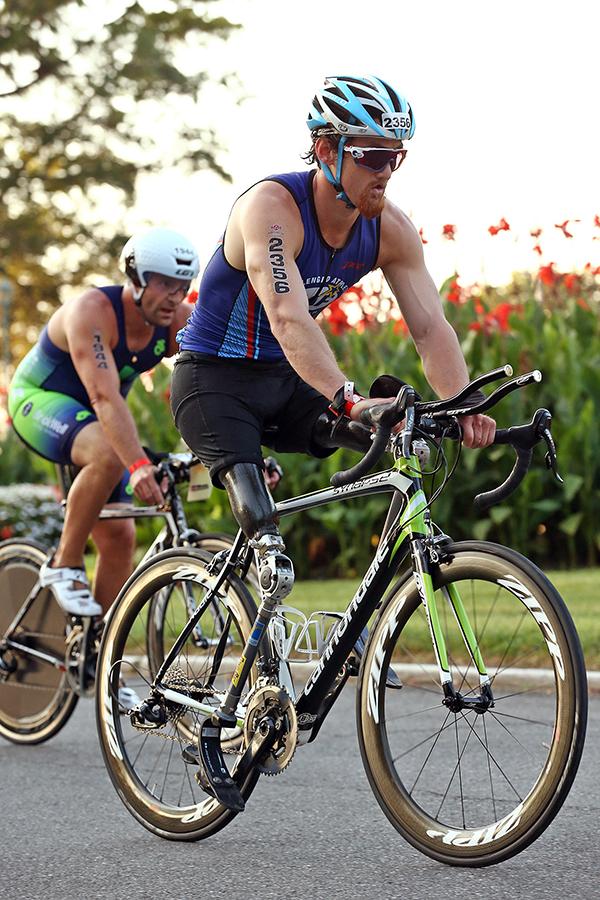 Rudy at Zoot Triathlon Westchester