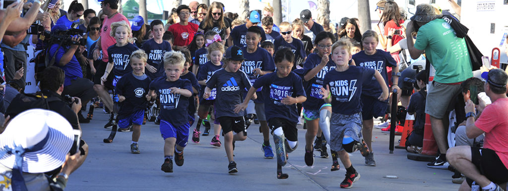Why Give to CAF_Kids Run