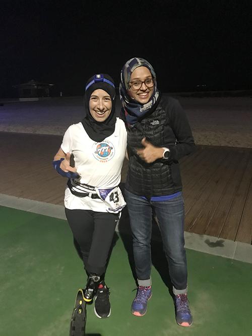Sarah Reinertsen World Marathon Challenge_Dubai