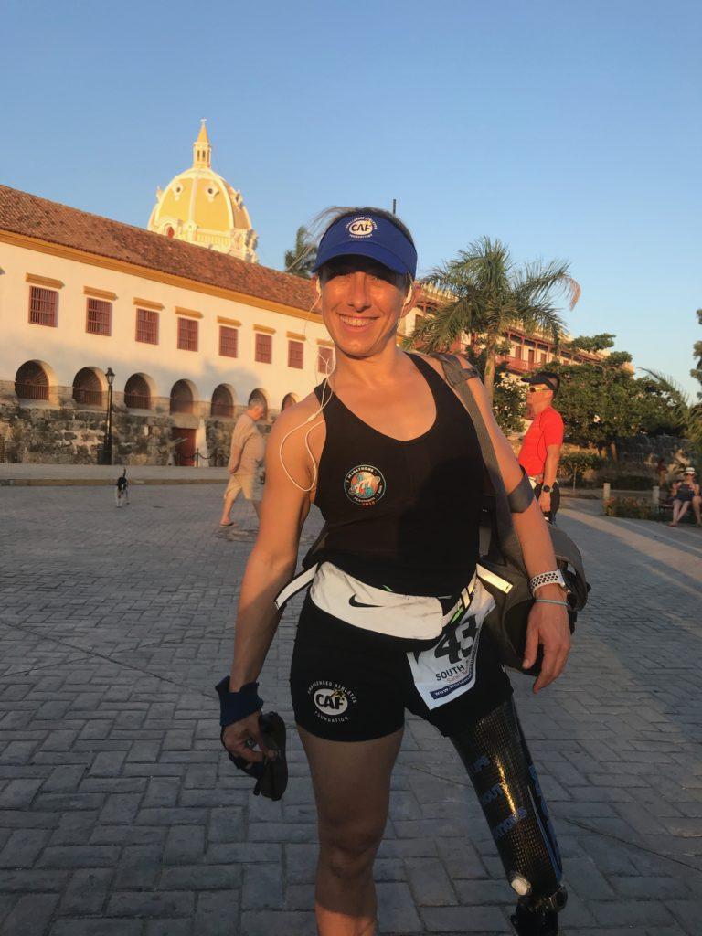 Sarah Reinertsen World Marathon Challenge_Catagena