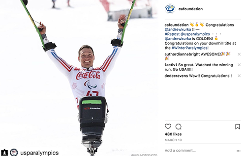 Andrew Kurka wins gold