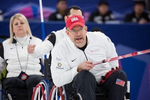 Steve Emt Team USA Wheelchair Curling