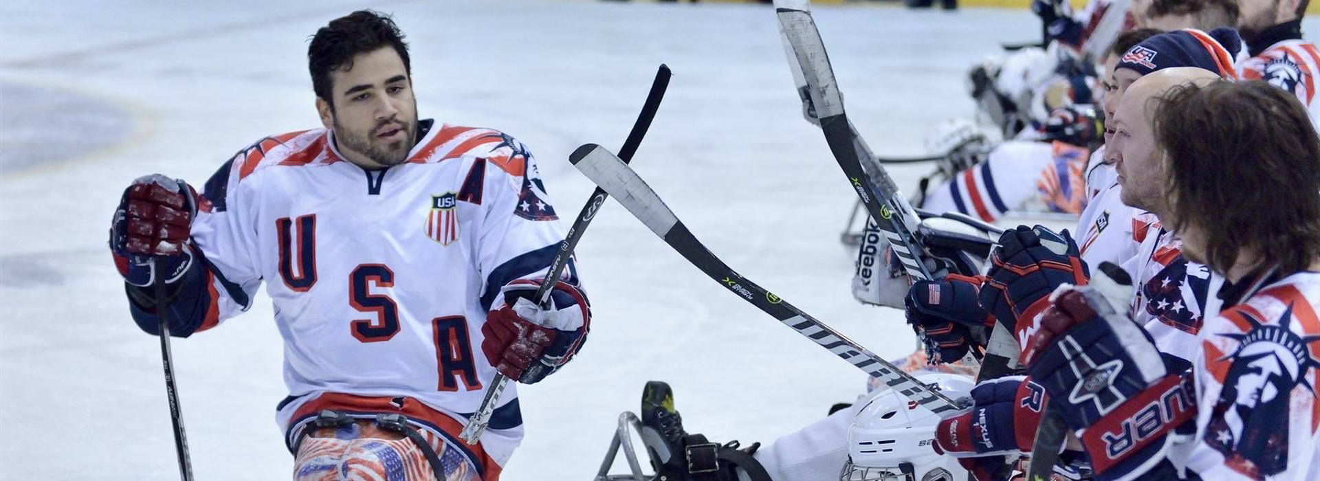 Nikko Landeros_sled hockey