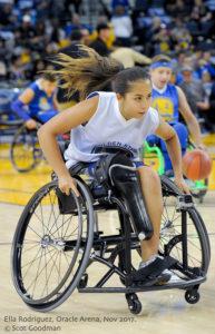 ella wheelchair basketball