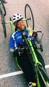 gabrielle handcycle