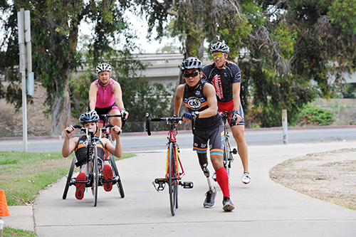 What you need to know to become a paratriathlete