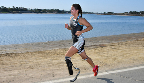 Youth Paratriathlete Sydney Barta