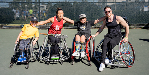 Planned Giving CAF_Wheelchair Tennis