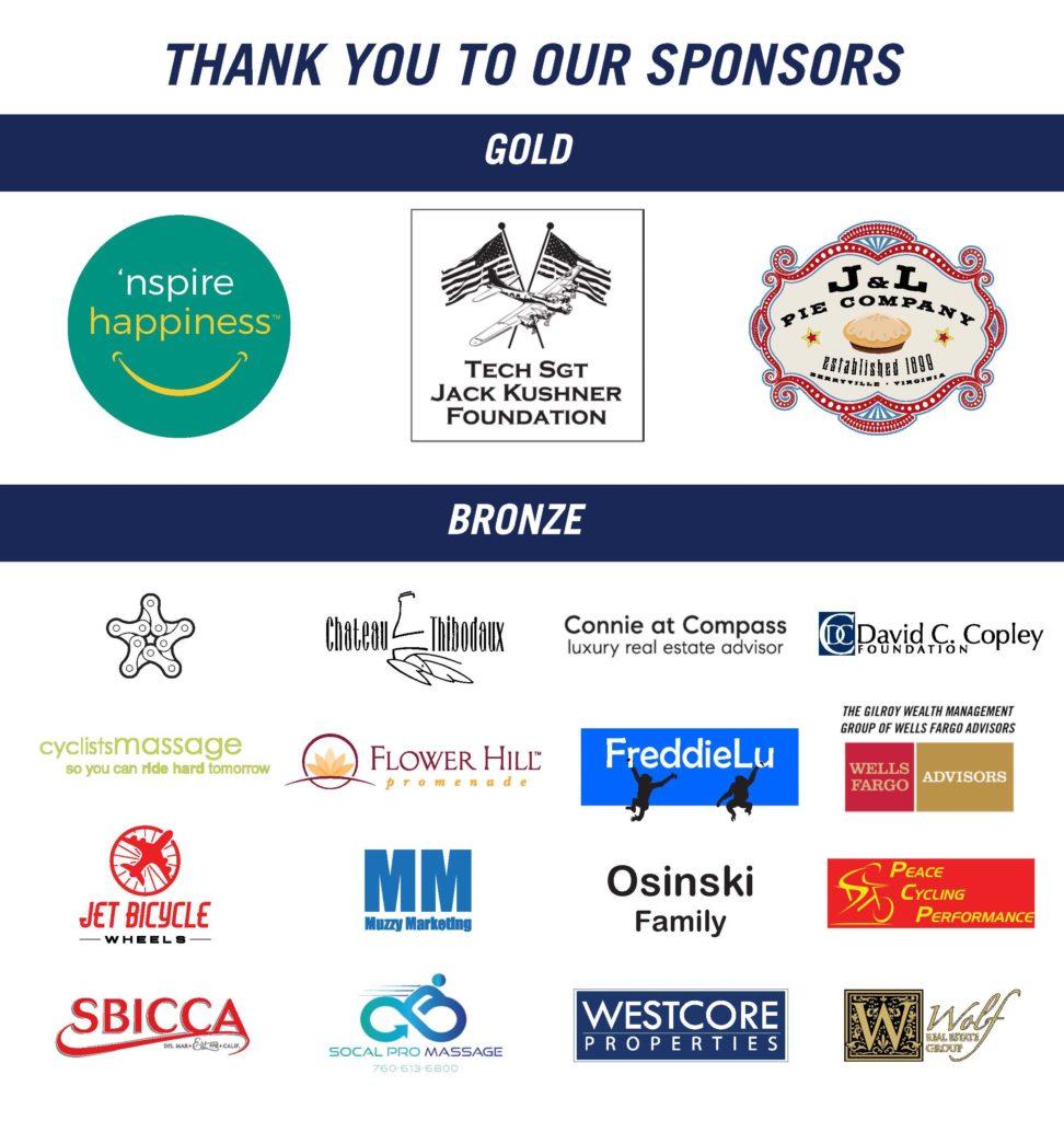 2019 CAF Cycling Club Sponsors