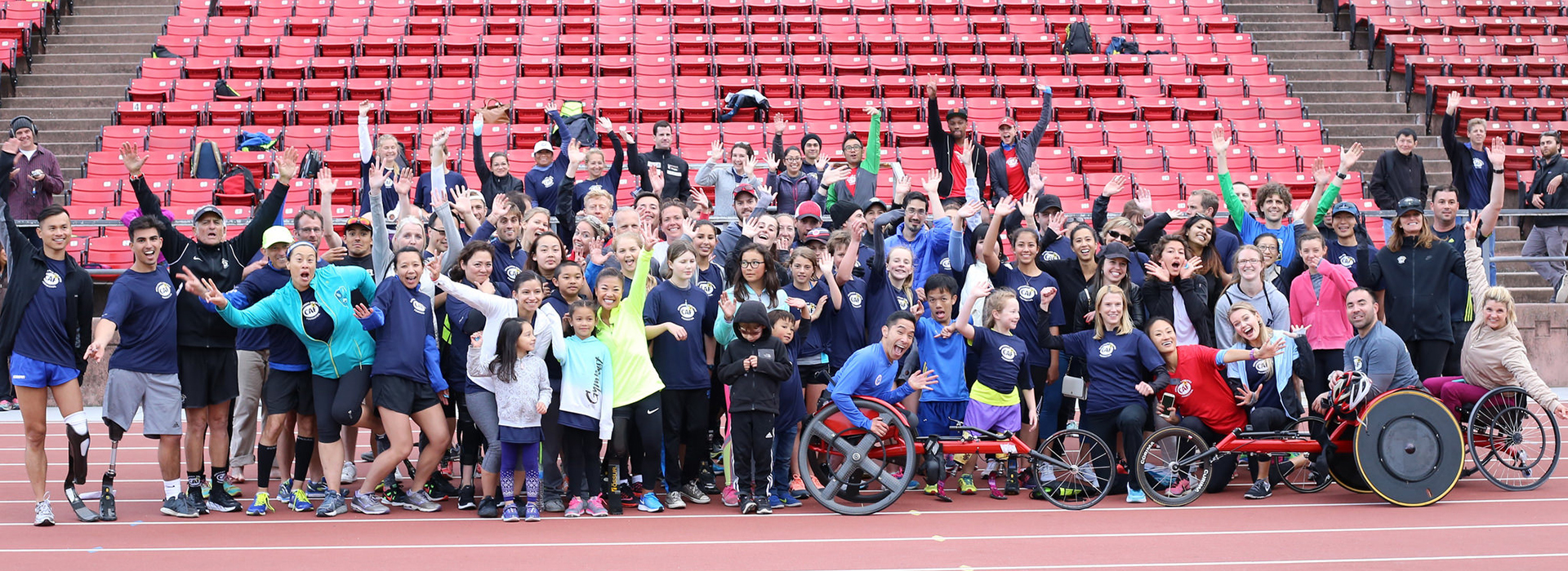 SF inclusive track workout