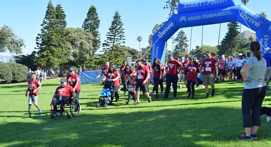5K Fitness Walk at the San Diego Triathlon Challenge 2017