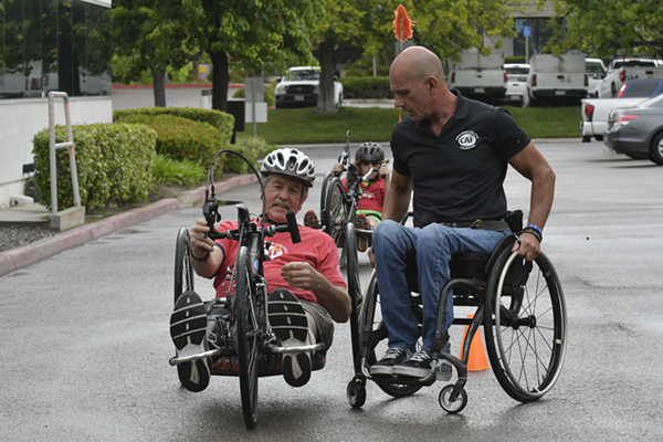 J and L Pie Adaptive Cycling Clinic at Challenged Athletes Foundation_2018