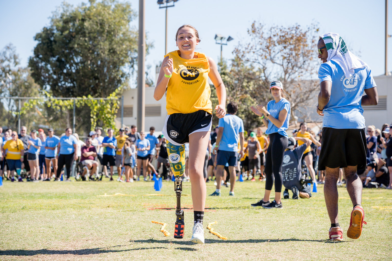 Adelynn Klundby Ossur Running and Mobility Clinic in San Diego