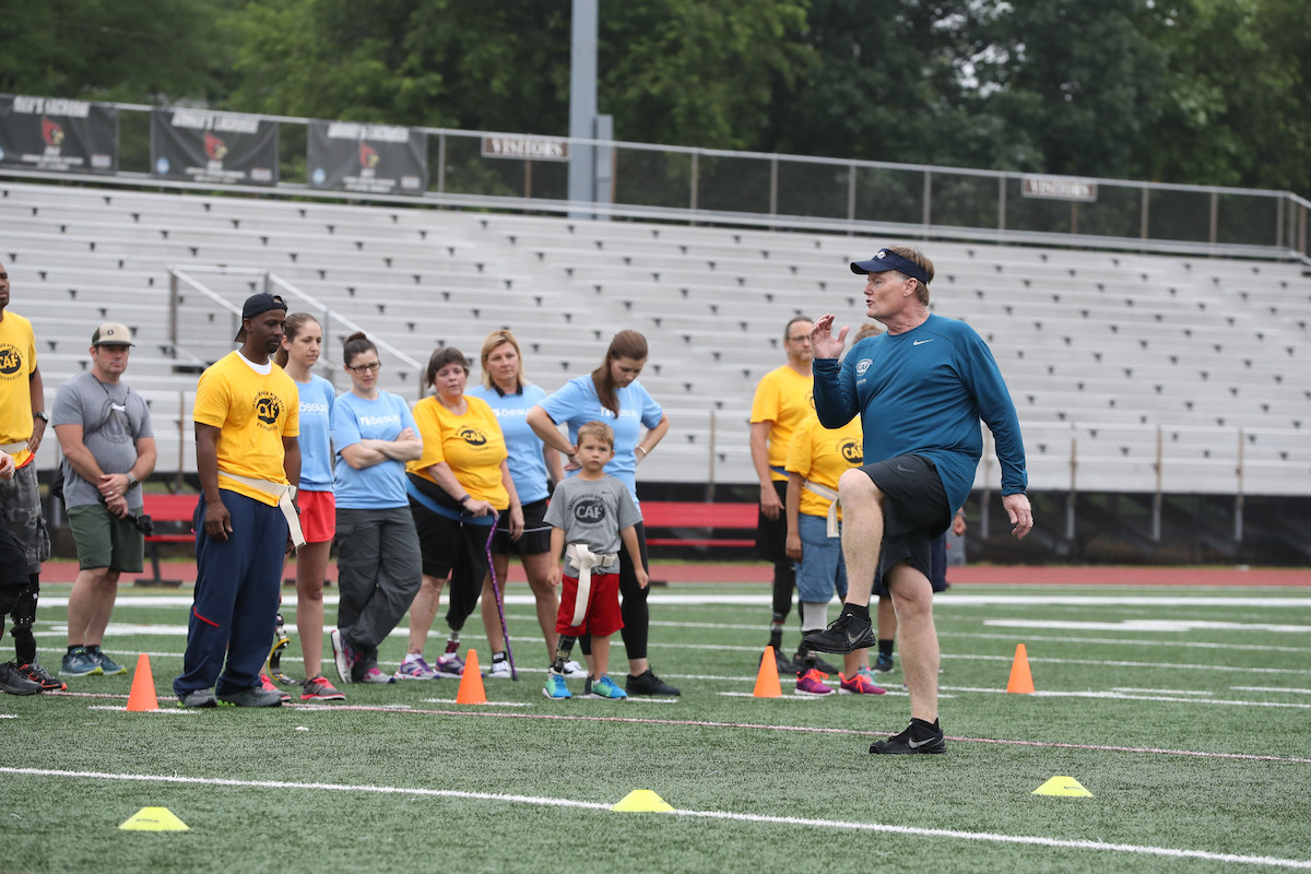 Bob Gailey at Challenged Athletes Foundation's Össur Running & Mobility Clinic