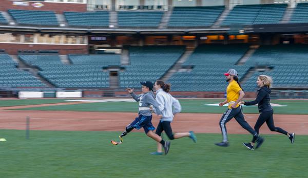 Össur Run Clinic in San Francisco