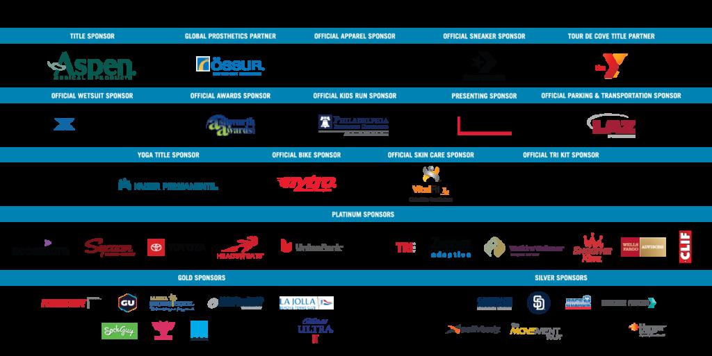 2019 San Diego Triathlon Challenge Sponsors
