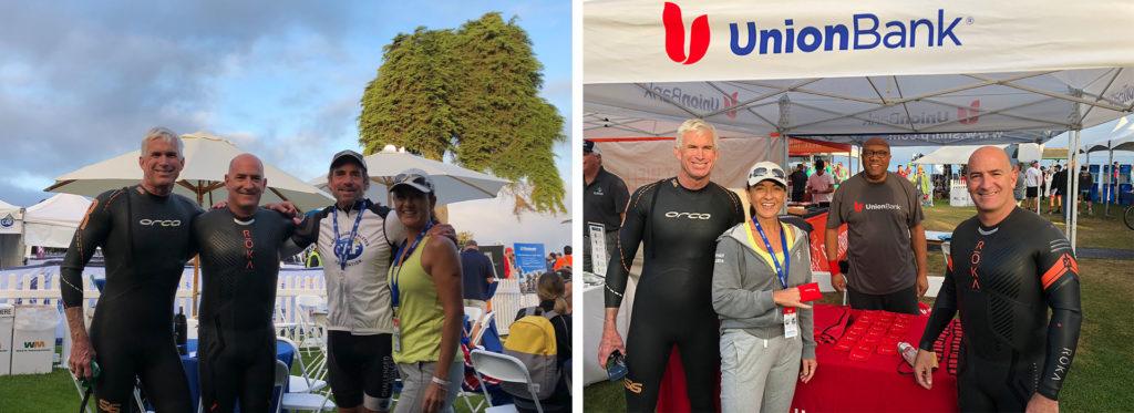 David Jochim and Union Bank supporting the San Diego Triathlon Challenge