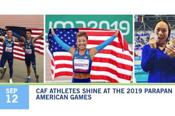 CAF athletes shine at Parapan American Games photo thumbnail