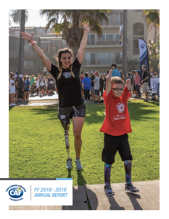 2018/2019 Annual Report for Challenged Athletes Foundation_image