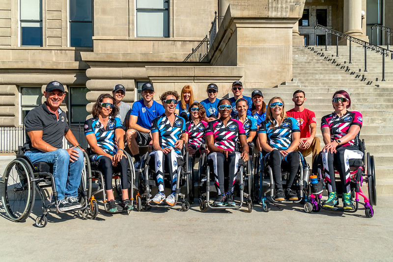 Challenged Athletes Foundation Womens Handcycling Team