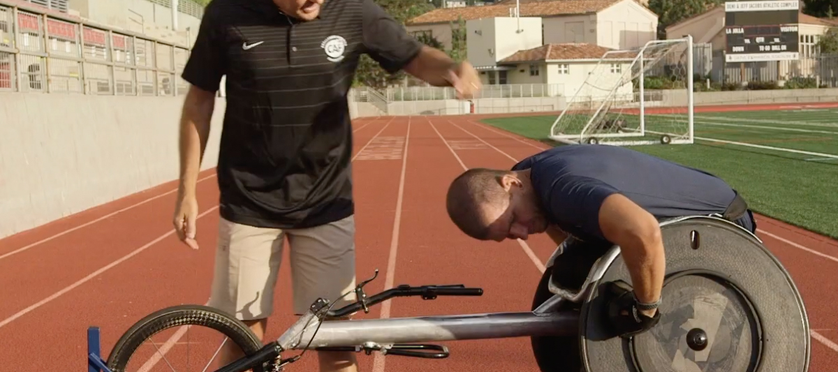 Wheelchair Racing-Push Stroke techniques