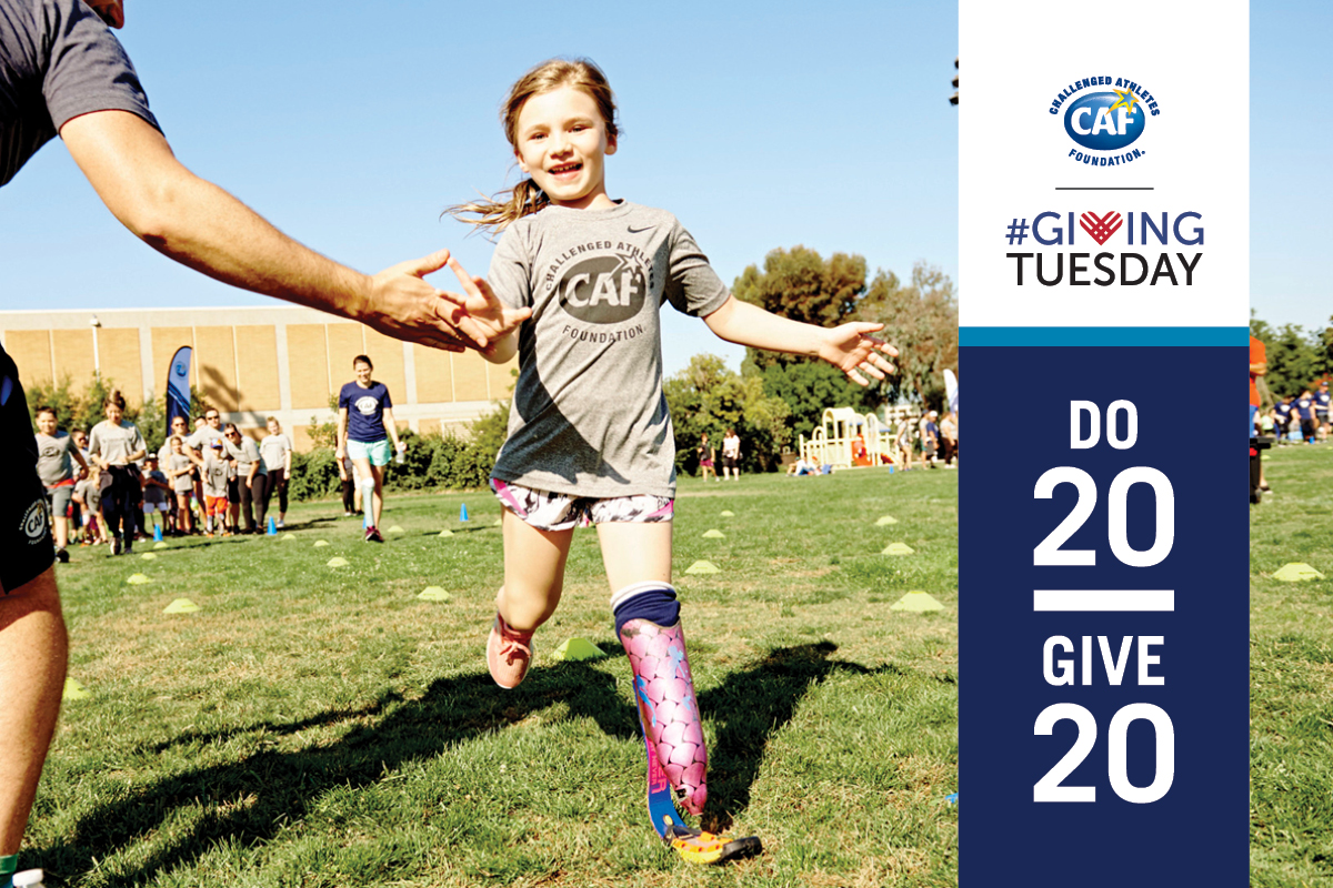 Giving Tuesday- Do 20, Give 20