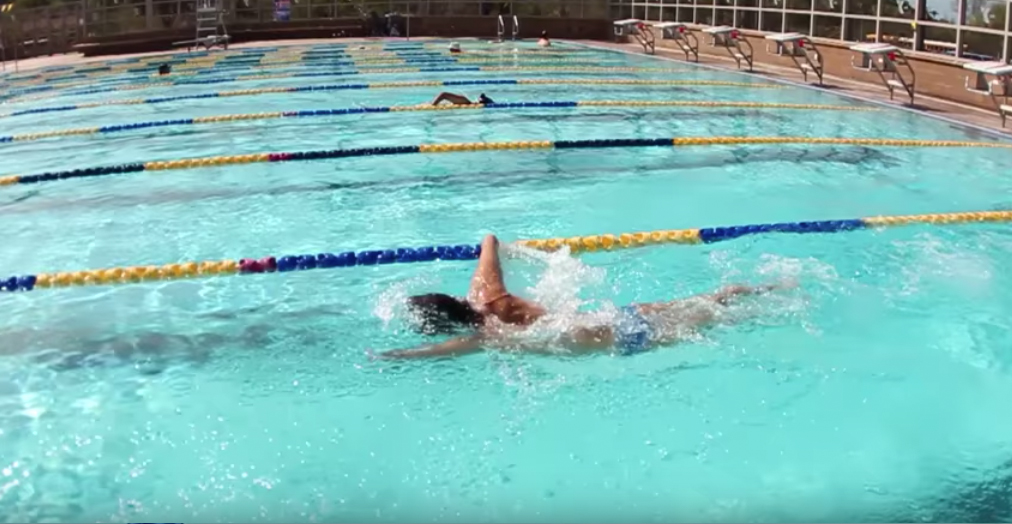 Freestyle Swim for bilateral amputee-video
