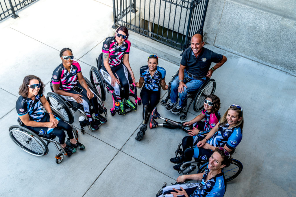 CAF First ever Women's Handcycling Team