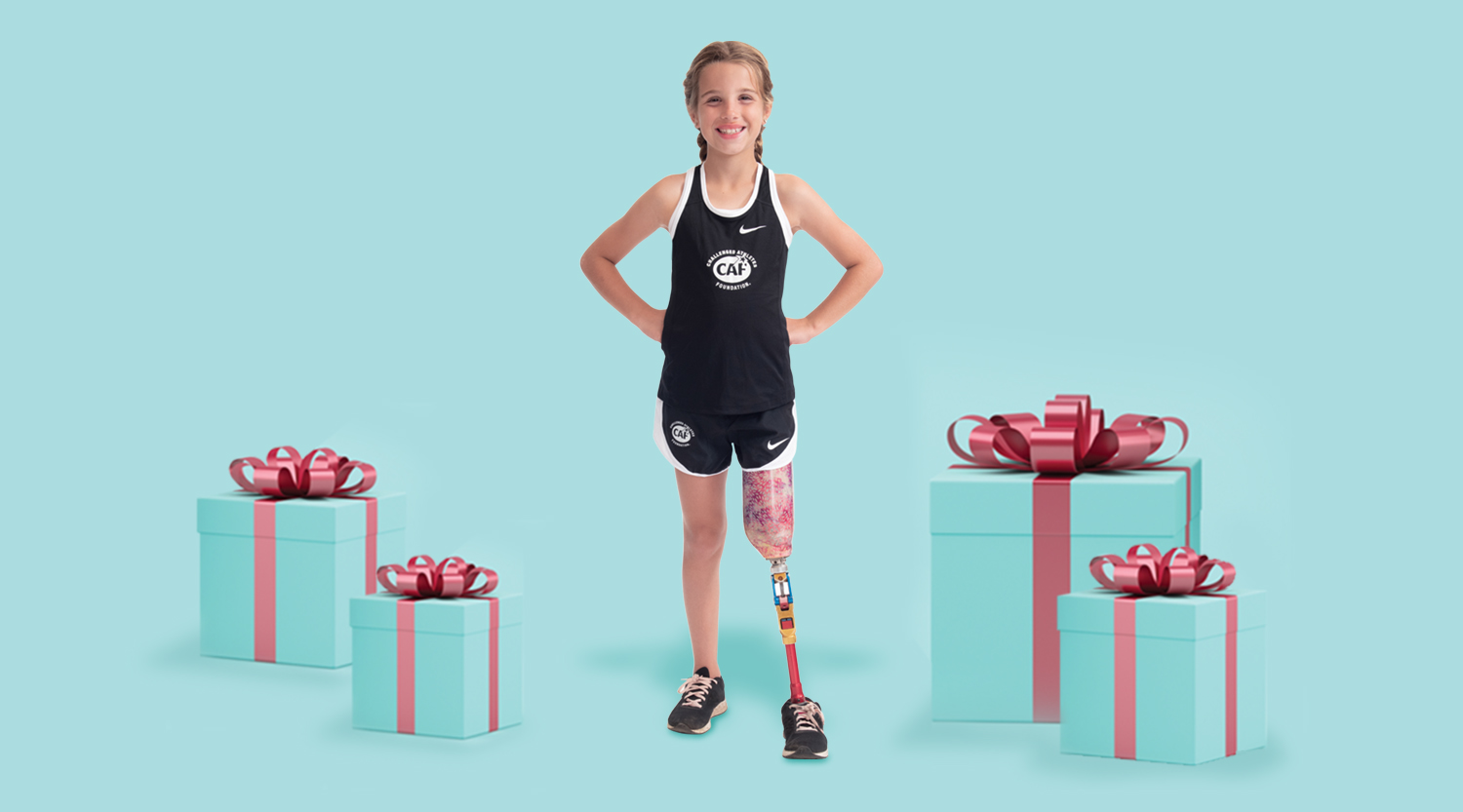 Cami Wood for CAF 2019 Holiday Campaign