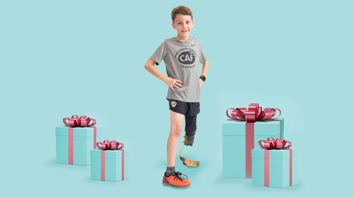 Logan Seitz for 2019 CAF Holiday Campaign