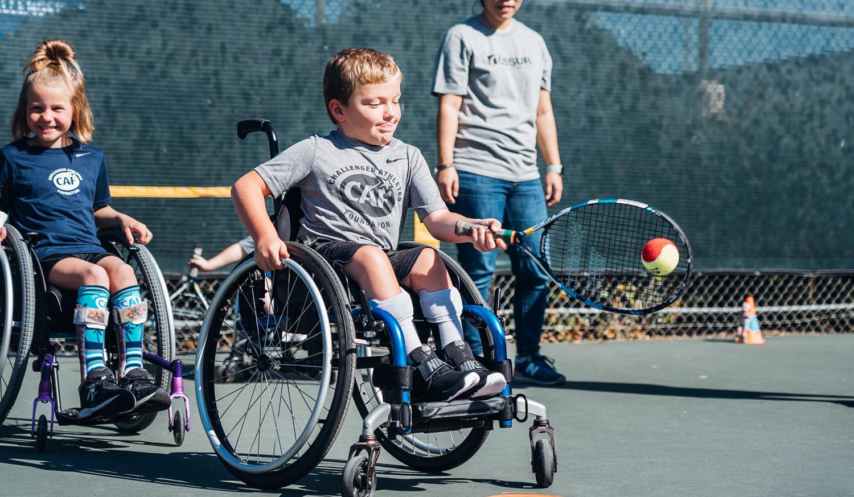 2019 CAF Wheelchair tennis clinic