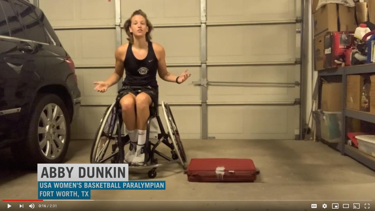 Abby Dunkin Quarter Turns Video Screenshot
