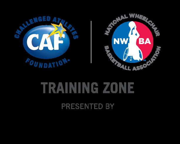 Wheelchair Basketball Training Zone Presented By Nike logo