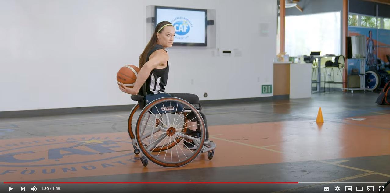 Megan Dribbling Behind Video Screenshot